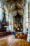 Int?rieur de l'?glise romane de St Michael du 13?me si?cle dans Zwolle image libre de droits