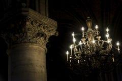 Int?rieur de Notre Dame photo stock