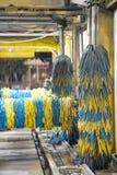 Int?rieur de station de lavage Vue de station de lavage automatique photo libre de droits