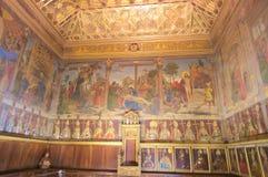 Int?rieurs de cath?drale de Toledo images stock