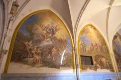 Int?rieurs de cath?drale de Toledo photos stock