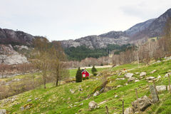 Intact landscape in norway, europe Royalty Free Stock Photography