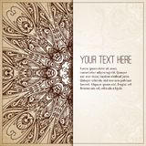 Intage tło Retro kartka z pozdrowieniami, zaproszenie Zdjęcia Royalty Free
