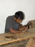 Intagliatore del legno Fotografia Stock Libera da Diritti