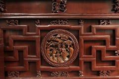 Intaglio del legno Fotografie Stock Libere da Diritti