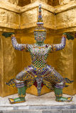Intarachit Statue. Intarachit is giant from epic Ramayana, who is son of Ravana Stock Photos