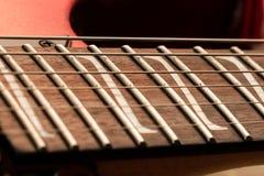Intarsi della chitarra Z Fotografie Stock Libere da Diritti