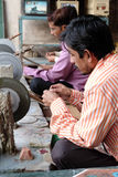 Intarsio di marmo a Agra Immagini Stock