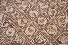 Intarsio di pietra a Delfi, Grecia Fotografie Stock