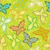 Intarsio senza cuciture delle immagini di mosaico delle farfalle. Li Fotografia Stock