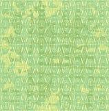 Intarsio senza cuciture di vettore di colore giallo verde Fotografia Stock