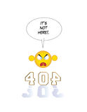 inte-funnen sida 404 Royaltyfria Foton