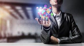 Integração das novas tecnologias Imagem de Stock