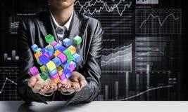 Integração das novas tecnologias Imagem de Stock Royalty Free