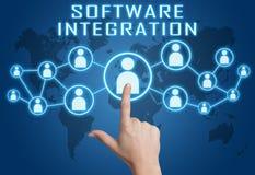 Integração de software Fotografia de Stock Royalty Free