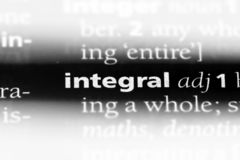 integraal stock foto's