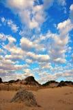 Integraal Natuurreservaat Cava Randello stock afbeelding