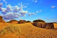 Integraal Natuurreservaat Cava Randello royalty-vrije stock foto