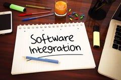 Integración de software Fotografía de archivo libre de regalías