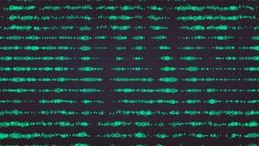 Integrado por partículas Diseño gráfico abstracto Sentido moderno del fondo de la ciencia y de la tecnología Ilustración del vect stock de ilustración