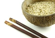 Integral rice grains Royalty Free Stock Photo