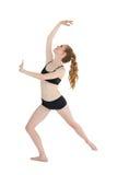 Integrale di un allungamento sportivo della giovane donna Fotografia Stock Libera da Diritti