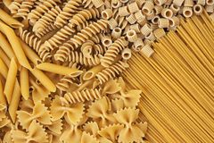 Integrals pasta - texture Stock Images
