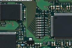 Integrate circuit. Macro shot of integrate circuit Stock Images