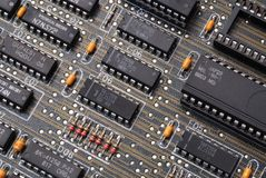 Integrated circuit Royalty Free Stock Images
