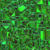Integrated circuit background Stock Photography