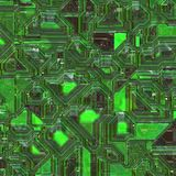 Integrated circuit background Royalty Free Stock Images