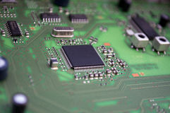 Integrated circuit board Royalty Free Stock Photos