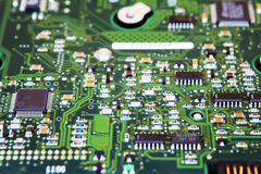 Integrated Circuit Board of a Hard Disk Stock Photos