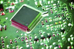 Integrated Circuit Stock Photo