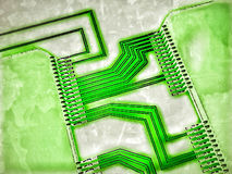 Integrated circuits Royalty Free Stock Images