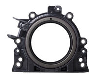 Integrated rotary shaft seal Stock Image