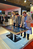 Integrated Systems Europe (ISE) exhibition,Amsterdam, Stock Photos
