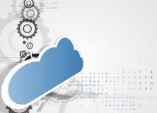 Integratietechnologie met aard, hemel Beste ideeën voor Zaken Stock Afbeeldingen