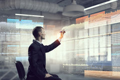 Integrating new technologies . Mixed media Royalty Free Stock Photo