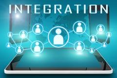 integration stock abbildung