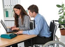 Integration into employment Stock Photos