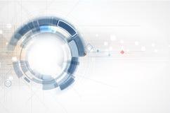Integration and innovation technology stock illustration