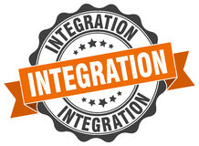 Integration stamp Royalty Free Stock Photography