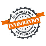 Integration stamp Royalty Free Stock Photos