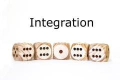 Integration, symbol, text Stock Photo