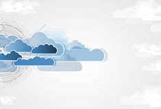 Integration technology with nature, sky. Best ideas for Business Royalty Free Stock Photos