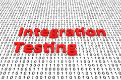 Integration testing Stock Image