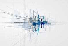 Integrations- och innivationteknologi Mest bra idéer för affär p Arkivbilder