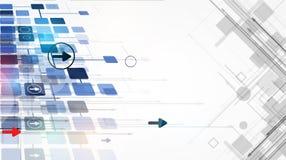 Integrations- und Innovationstechnologie Lizenzfreies Stockbild
