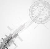 Integrationsteknologi med naturen, himmel Mest bra idéer för affär Arkivfoton
